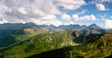 Free Mountain Landscape Royalty Free Stock Photography - 17703647