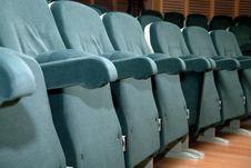 Free Empty Green Seats Stock Photo - 17703960