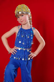 Free Oriental Costume Stock Image - 17704301
