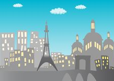 Free Paris Background Stock Images - 17705234