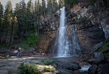 Free Waterfall Royalty Free Stock Photography - 17705917