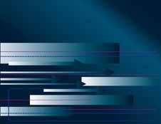 Free Blue Abstract Background With Arrows Stock Images - 17706244