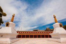 Tibetan Temple Royalty Free Stock Photos