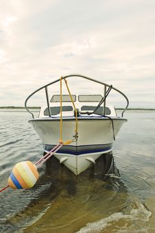 Free Moored Boat Stock Photography - 17706892
