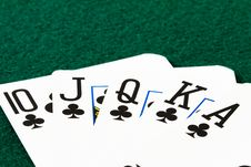 Free Royal Flush Stock Images - 17706944