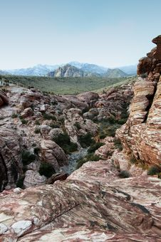 Free Red Rock Canyon Stock Image - 17707361