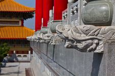 Free Head Of Dragon Statue  Chinese Style Stock Photo - 17708910
