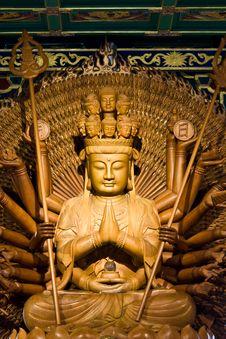Thousand Hands Of God Image Stock Photo