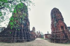 Free Ruins From Ayutthaya Stock Image - 17709061