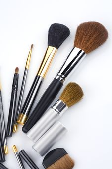 Free Brushes Royalty Free Stock Photo - 17709495