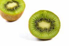 Free Kiwi Isolated On White Stock Image - 17709811