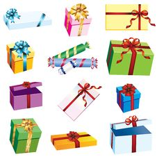 Free Gift Packaging. Stock Photography - 17709872