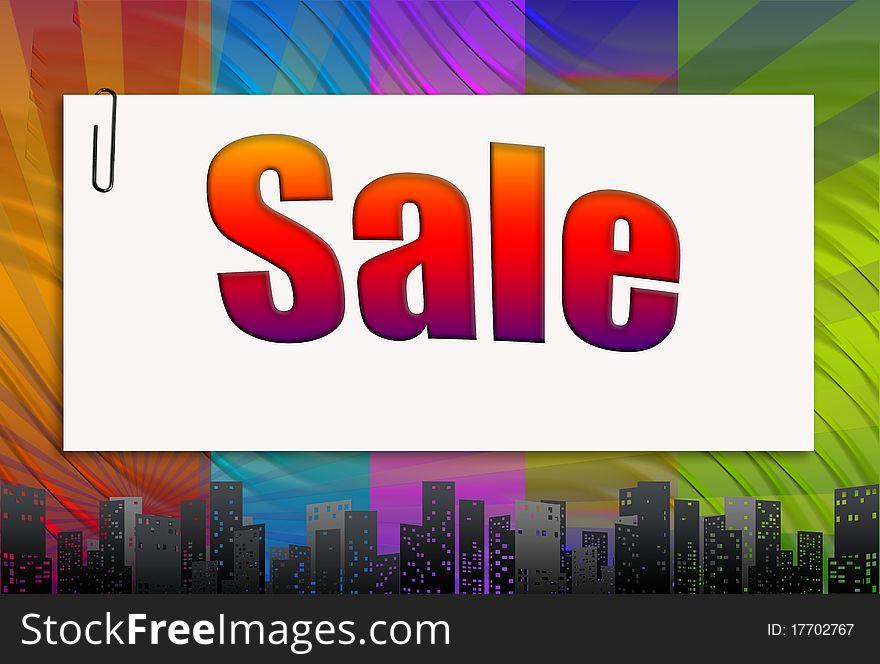 Sale, background