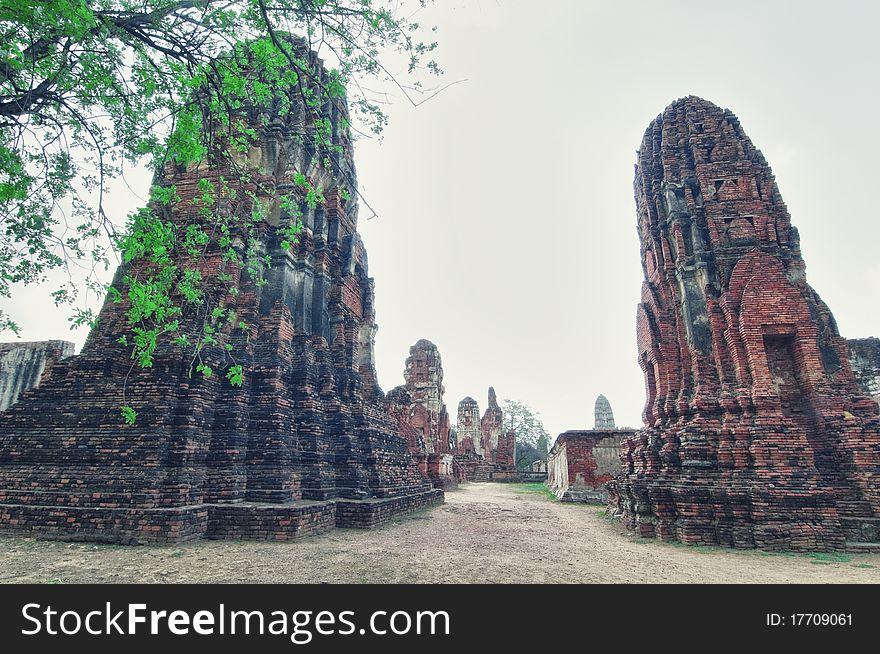 Ruins from Ayutthaya