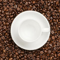 Free Cup With Beans Royalty Free Stock Photography - 17713447