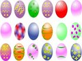 Free Easter Eggs On White Royalty Free Stock Photography - 17713967