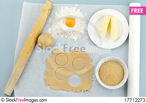 Free Baking Ingredients Stock Photos - 17712273