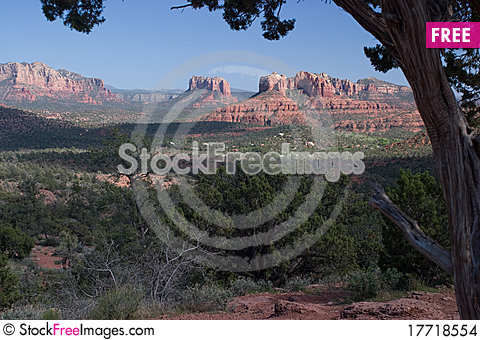 Free Cathedral Rock At Red Rock Crossing, Sedona, AZ Stock Images - 17718554