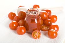 Free Tomatoes And Ketchup Stock Images - 17711364