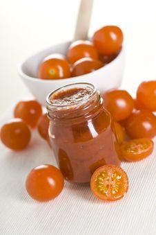 Free Tomatoes And Ketchup Stock Image - 17711371