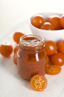 Free Tomatoes And Ketchup Stock Image - 17711381