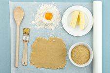 Free Baking Ingredients Stock Photo - 17712220