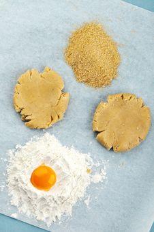 Free Baking Ingredients Royalty Free Stock Photo - 17712555