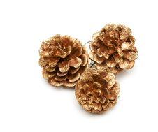 Free Christmas Tree Gold Bumps Stock Image - 17712591