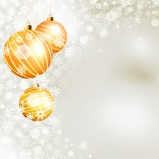 Free Elegant Christmas Background. EPS 8 Royalty Free Stock Image - 17712746