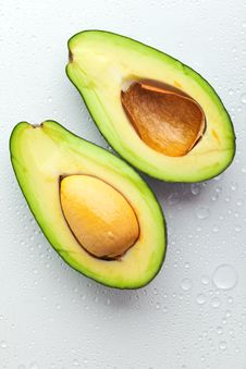 Ripe Avocado Stock Photography