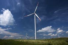 Free Windmills, Poland Royalty Free Stock Photos - 17713318