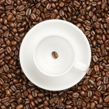 Free Cup With Beans Stock Photos - 17713453