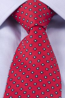 Free Business Power Tie In Red Stock Photos - 17714273