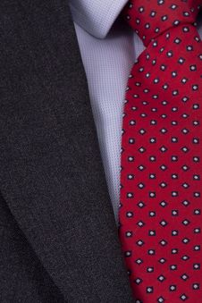 Free Business Power Tie In Red Royalty Free Stock Photo - 17714275