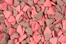 Free Valentine Hearts Background Royalty Free Stock Images - 17714559