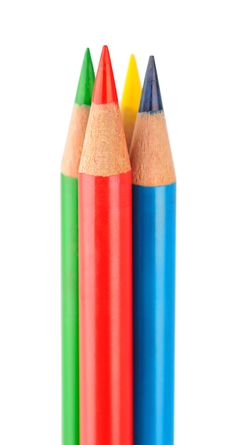 Free Colored Pencils Royalty Free Stock Photo - 17714565