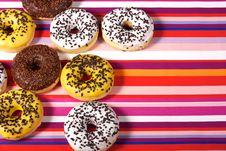 Free Donuts Royalty Free Stock Photos - 17714588
