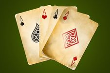 Free Four Aces Stock Image - 17714661