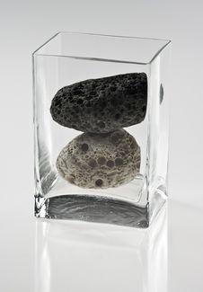 Free Two Stones Royalty Free Stock Photo - 17715445