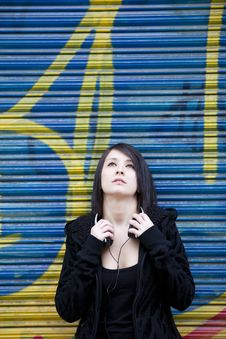 Free Urban Girl Portrait Stock Photos - 17716503