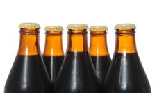 Free Dark Beer Bottles Royalty Free Stock Photography - 17716607