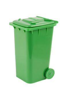 Green Dumpster Royalty Free Stock Images