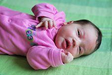 Free Baby Girl Stock Photo - 17717150
