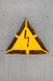 Free High Voltage Sign Stock Images - 17717234