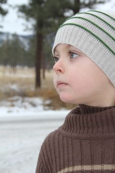 Free Winter Boy Stock Photo - 17717350