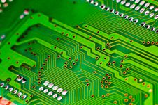 Free Circuit Board Gy Royalty Free Stock Photos - 17717678