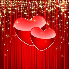 Free Two Hearts Stock Image - 17717891
