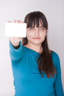 Great Card Royalty Free Stock Image