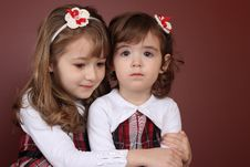 Free Two Sisters Royalty Free Stock Image - 17718116