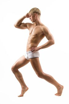 Male Model Royalty Free Stock Photos